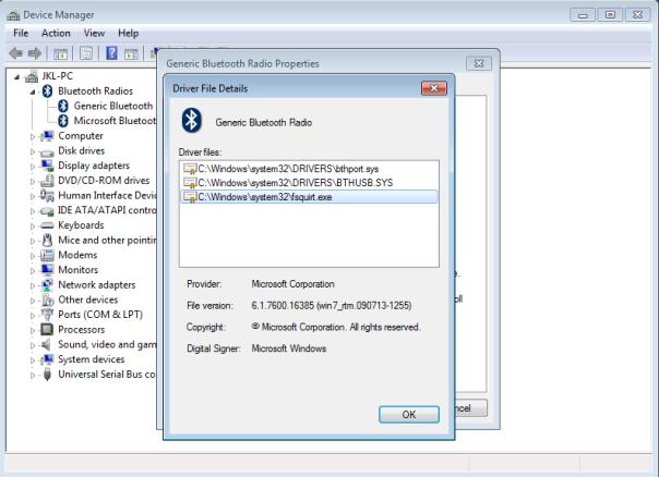 generic bluetooth adapter windows 7 download